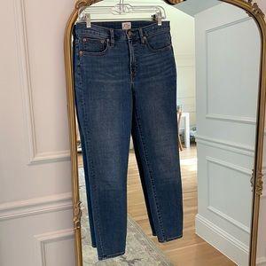 J.Crew 9 inch Toothpick Skinny Jeans